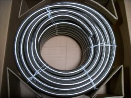 Edelstalwellrohr DN40, 25,0 m Rollring