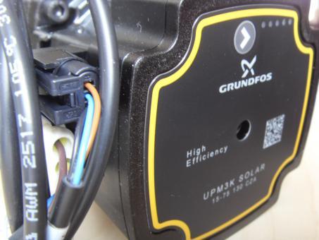 Hocheffizienzpumpe Grundfos UPM3K SOLAR 15-75 130 CZA
