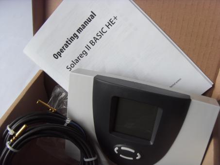 Differenztemperaturregler mit großem Dysplay